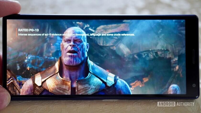 Sony Xperia 10 Plus Movie