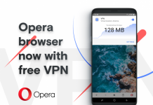 Opera bakes VPN into latest browser release
