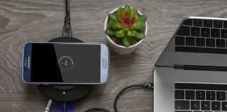 This 5-port hub has a built-in Qi charger for keeping all your tech charged