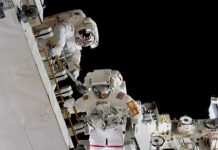 Spacewalk a success as astronauts upgrade batteries on the ISS