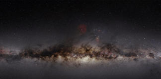 Astronomers discover giant chimneys spewing energy from the center of the galaxy