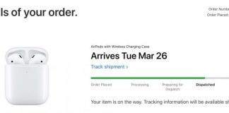 First New AirPods Orders Now Shipping, With Deliveries From Tuesday