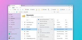 The new Windows 10 File Explorer could look like this in 2020