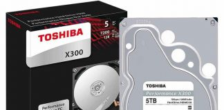 Store all your games and media with $40 off Toshiba's X300 5TB hard drive