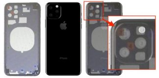 Alleged Leaked Schematic Depicts 2019 iPhone With Triple-Lens Camera in Triangular Arrangement