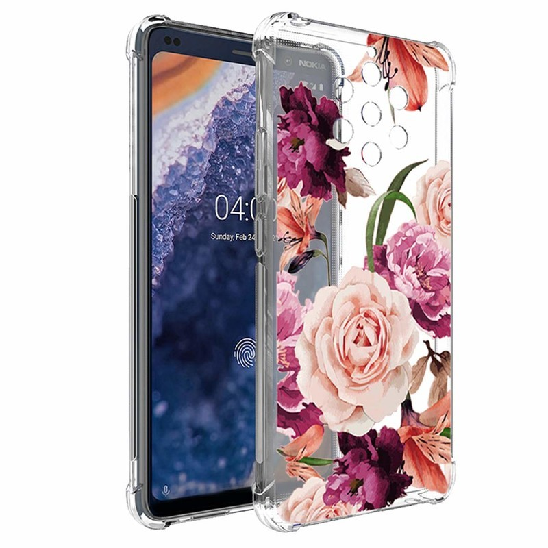 ostopher-floral-tpu-clear-case-nokia-9-r
