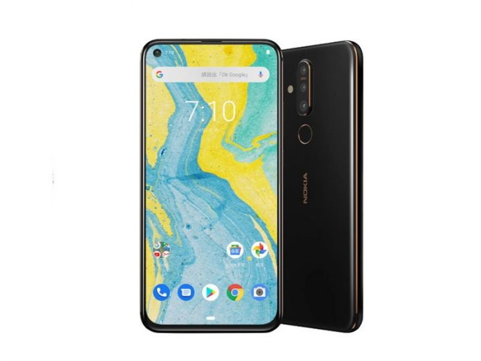 The Nokia X71 arrives with a hole-punch display and three rear cameras