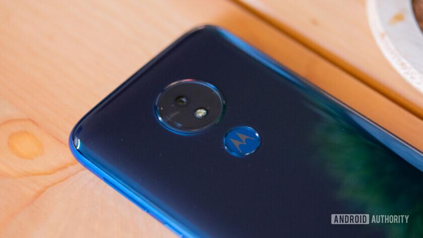 Moto G7 and Moto G7 Power rear camera and fingerprint sensor