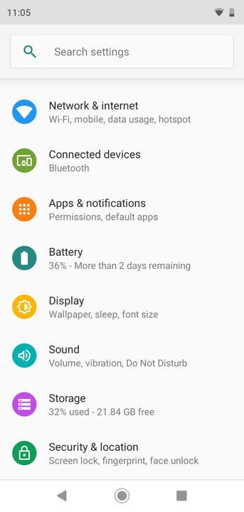 Moto G7 Play Screenshots