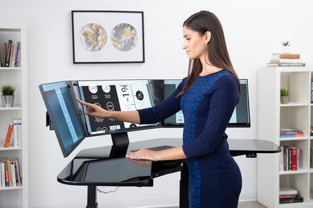 This $5,300 workstation isn't just a desk. It's a cockpit of productivity