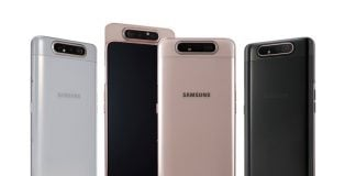 The Galaxy A80 goes official with a unique rotating triple camera