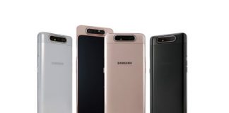The Galaxy A80's sliding, rotating selfie camera is mad design at its best