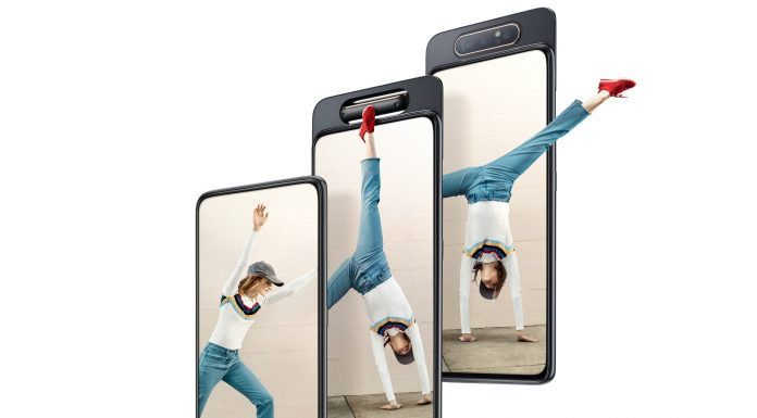 The Samsung Galaxy A80 shows off the future of smartphone cameras