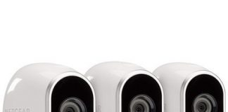 Keep an eye out with the Arlo 3-camera security system at its best price