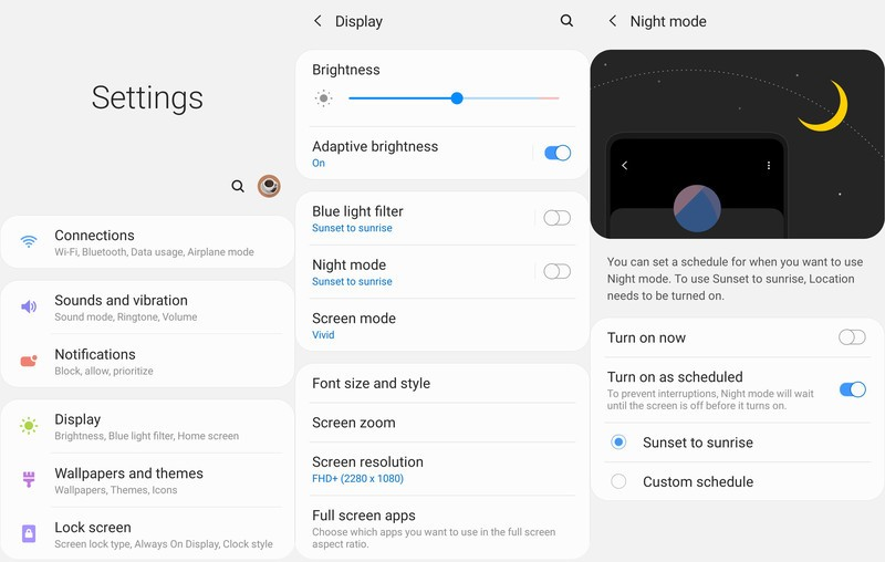 How to enable One UI (Android 9 Pie) dark mode on Samsung Galaxy