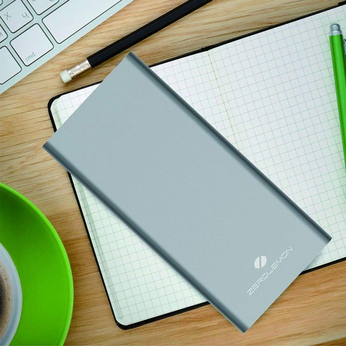 Save over 60% on ZeroLemon's 22800mAh portable battery with two USB ports