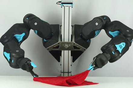 Blue the robot could help fold clothes or unload your dishes for under $5,000