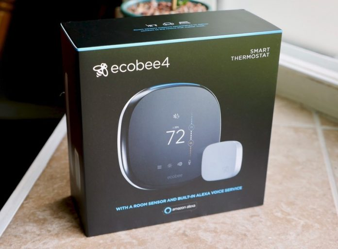 Install a new ecobee4 smart thermostat in your home for its lowest price