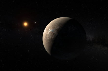 Our nearest exoplanet, Proxima b, could have a large and chilly neighbor
