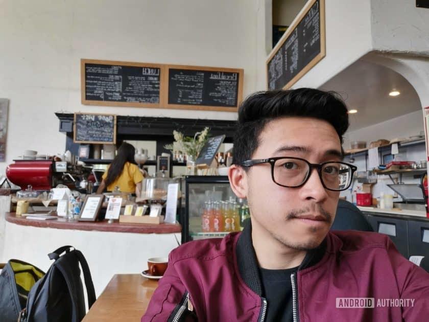 Huawei P30 Pro selfie sample