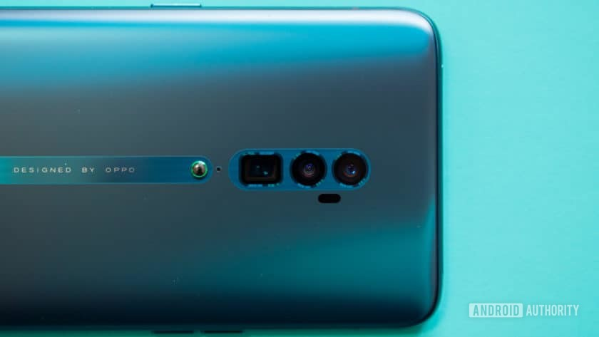 Oppo Reno Hands On triple rear cameras