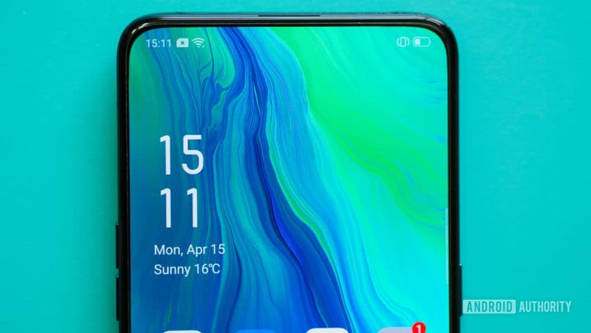 Oppo Reno display