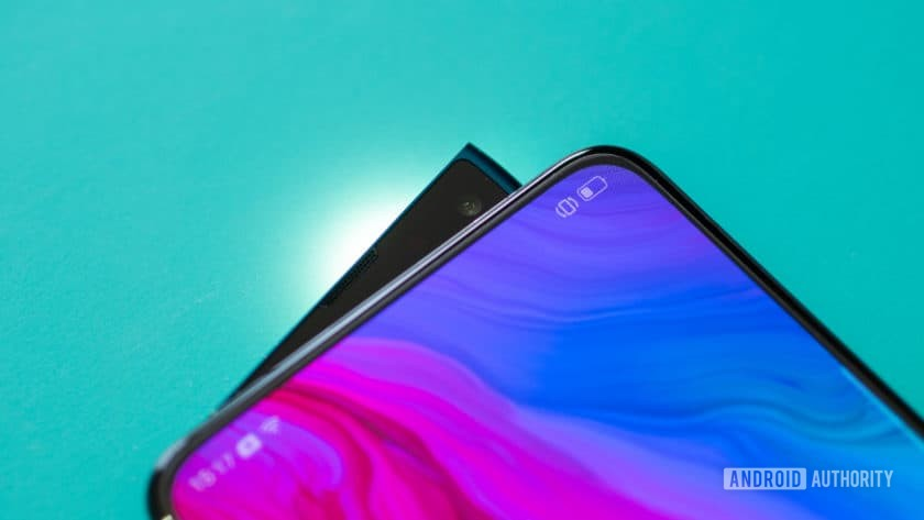 Oppo Reno Hands On shark-fin popup camera