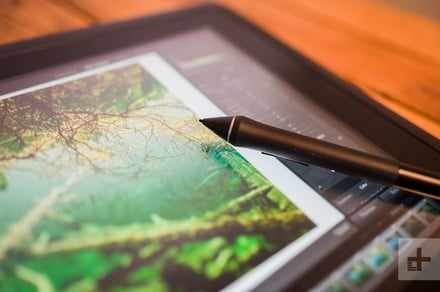 Sweet 16: Wacom's Cintiq 16 pen display makes retouching photos a breeze