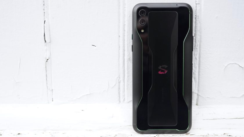 Black Shark 2 Review rear panel