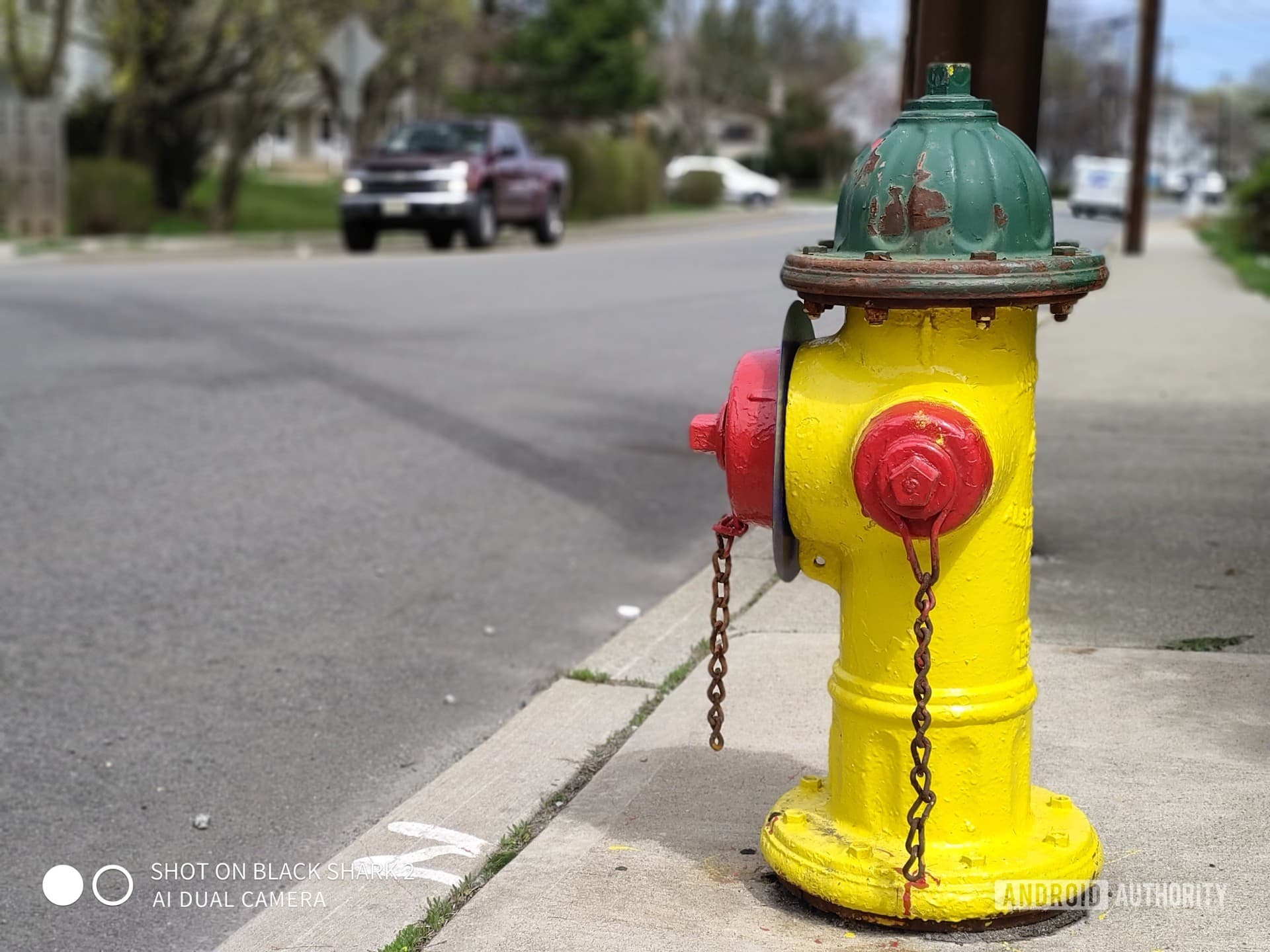 Black Shark 2 Photo Sample fire hydrant perspective