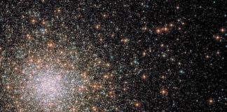Gravitational forces at heart of Milky Way shaped this star cluster like a comet