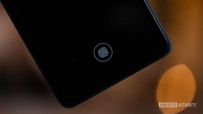 Huawei P30 fingerprint reader