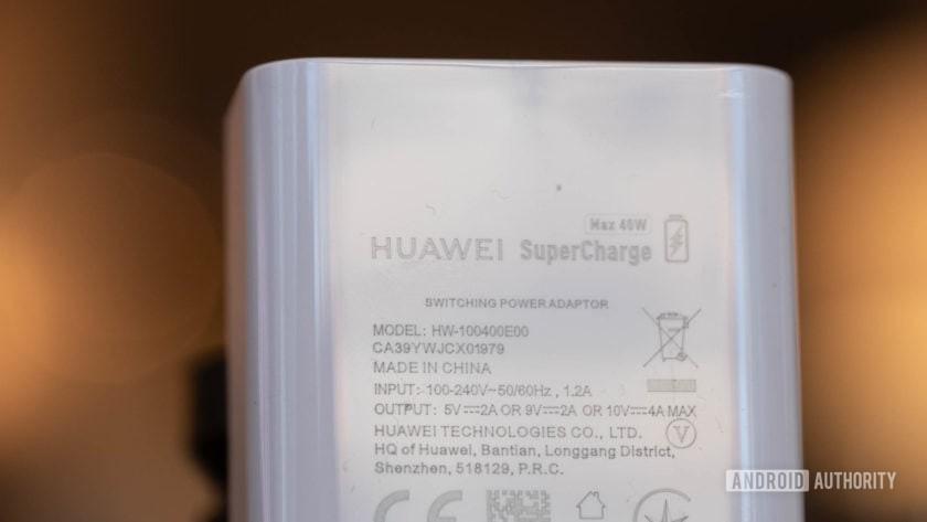 Huawei 40W charging brick