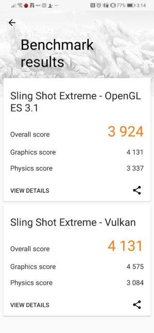 Huawei P30 3DMark Score