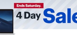 Best Buy's New 4-Day Sale: Save on MacBook Pro With Touch Bar (Up to $400 Off), iPhone X, and More