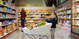 Ford's self-braking shopping cart offers crash-free supermarket trips