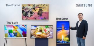 Samsung's The Sero is a vertical TV for mobile video addicts