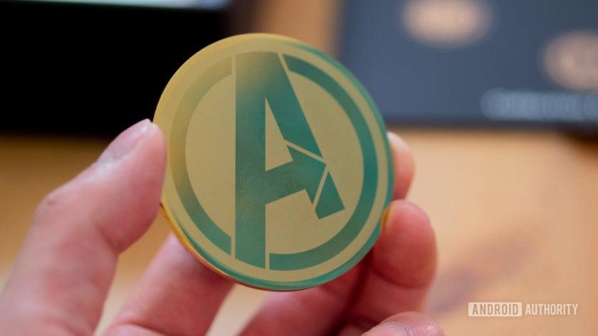 Oppo F11 Pro Avengers Endgame Edition gold coin