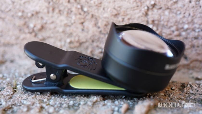 Black Eye Pro Kit G4 review telephoto side view