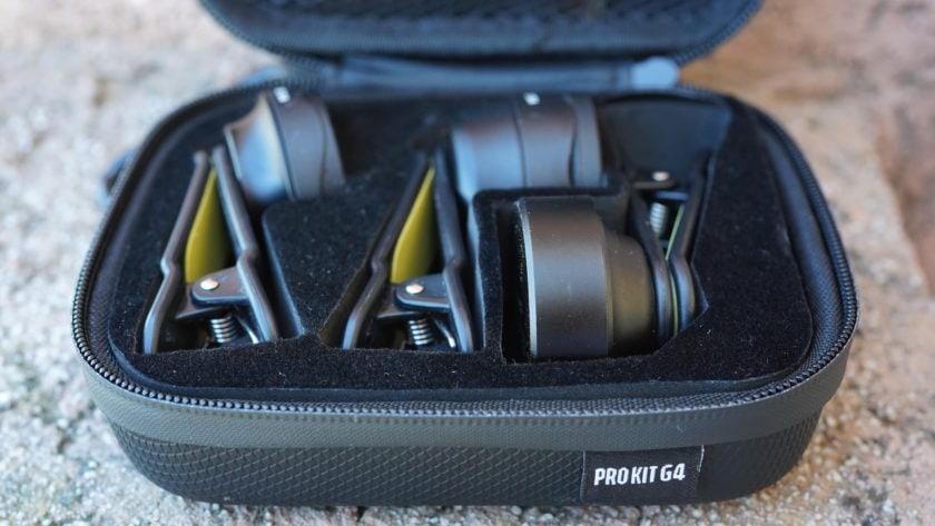 Black Eye Pro Kit G4 review carrying case open