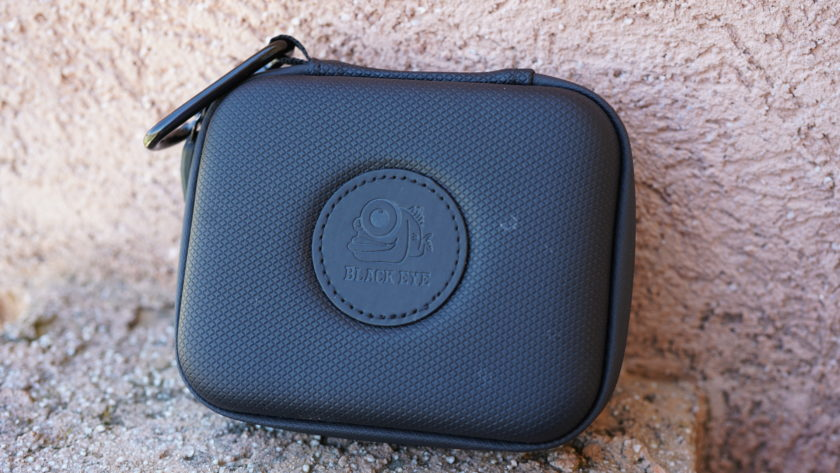 Black Eye Pro Kit G4 review carrying case side view