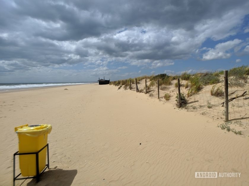 Black Eye Pro Kit G4 review - beach wide angle