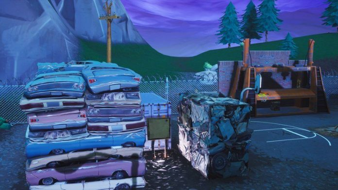 Search the Junk! How to find the treasure in Junk Juction in Fortnite