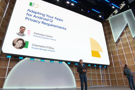 Google I/O: Android Q aims to bring app permissions firmly under control