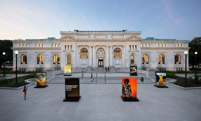 Apple Previews Carnegie Library Store in Washington, D.C. Ahead of Grand Opening on Saturday