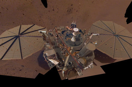 InSight's solar panels get a spring cleaning from Martian winds