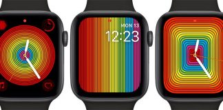 New Pride Watch Faces Available in watchOS 5.2.1