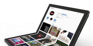 Lenovo Debuts Foldable PC Prototype