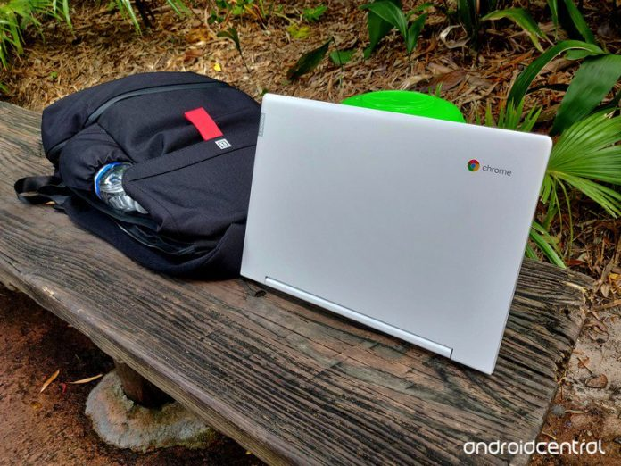 The Lenovo Chromebook C330's battery is a champion