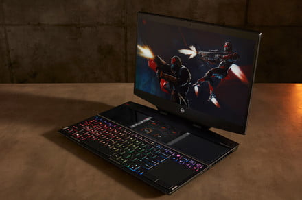 HP packs second screens, liquid metal, and RTX graphics in new Omen laptops